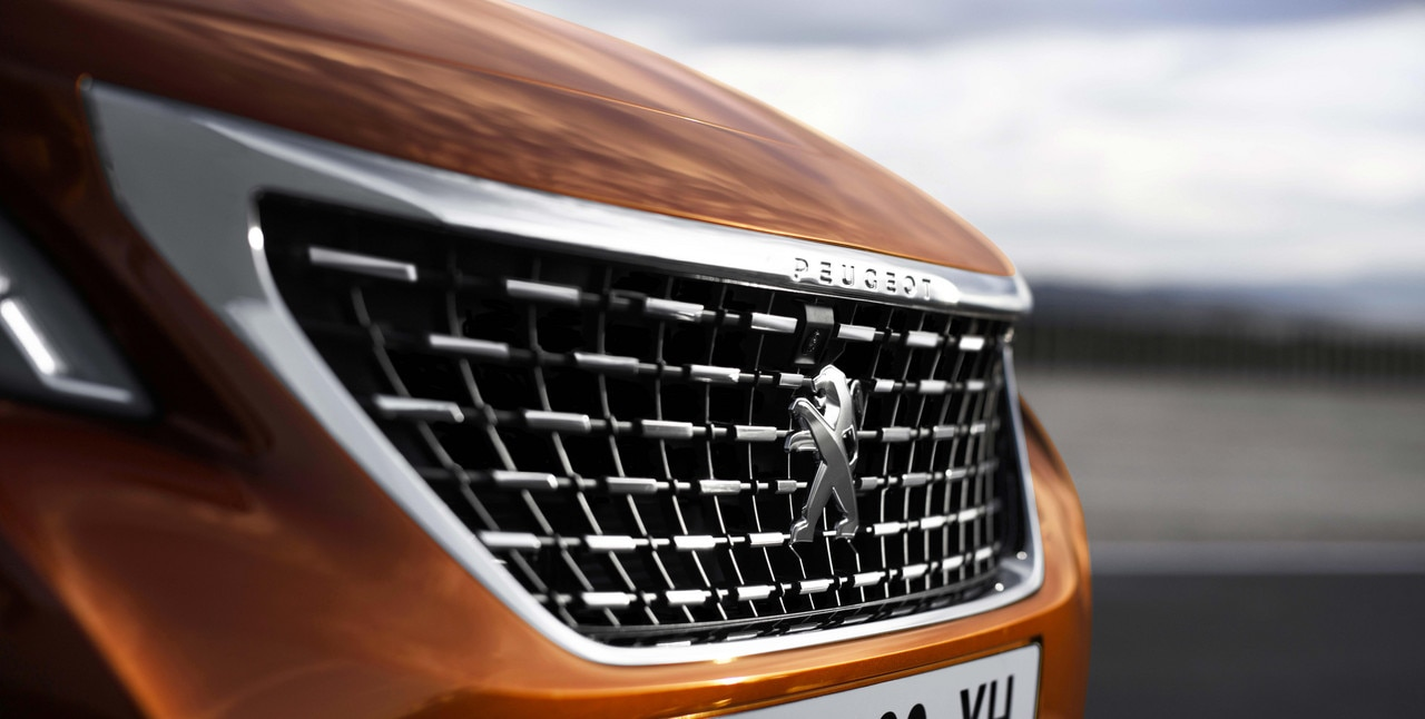 Innovations and Technologies: the New PEUGEOT 3008 SUV Grille