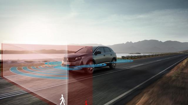 Nouveau SUV PEUGEOT 3008 - Aides à la conduite de dernière génération