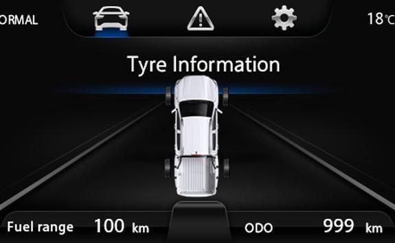 Nouveau pick-up PEUGEOT LANDTREK - Contrôle de pression des 4 pneumatiques
