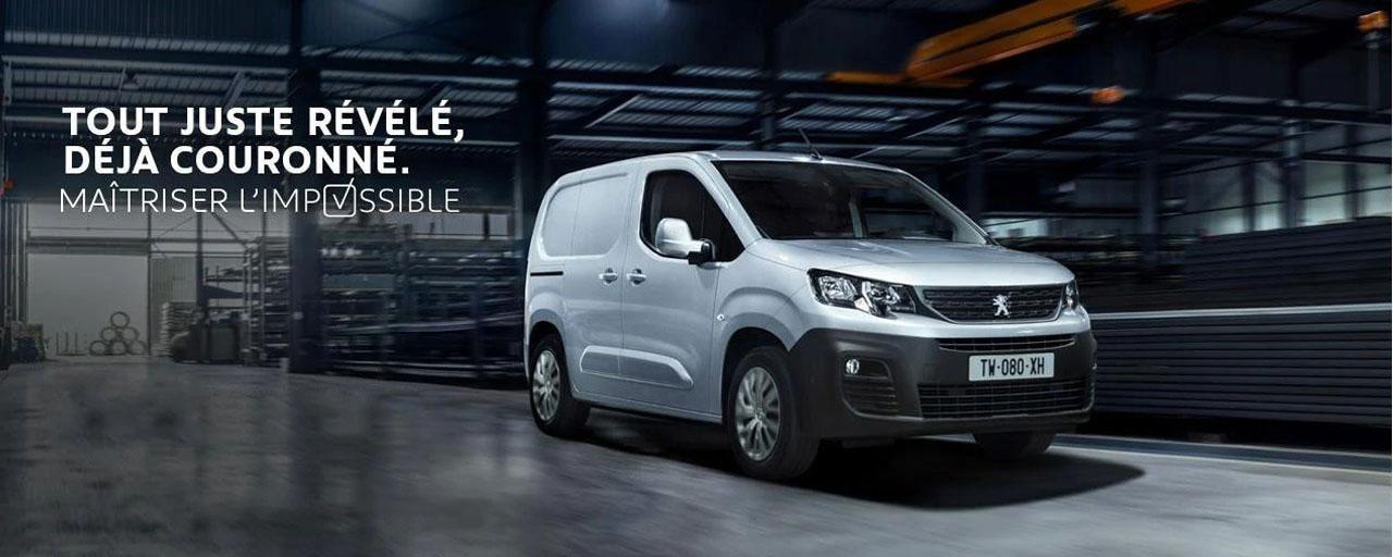 Peugeot Partner Banner