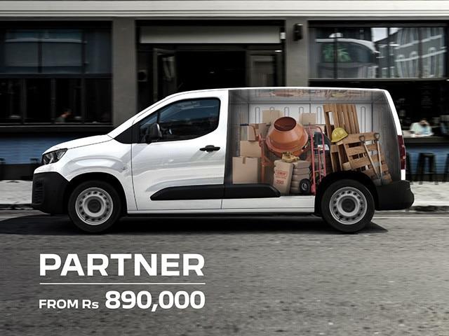 Peugeot Partner Load a tonne, get more done